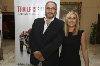 Paolo Penza (Fox) e il diretttore artistico Stefania Bianchi