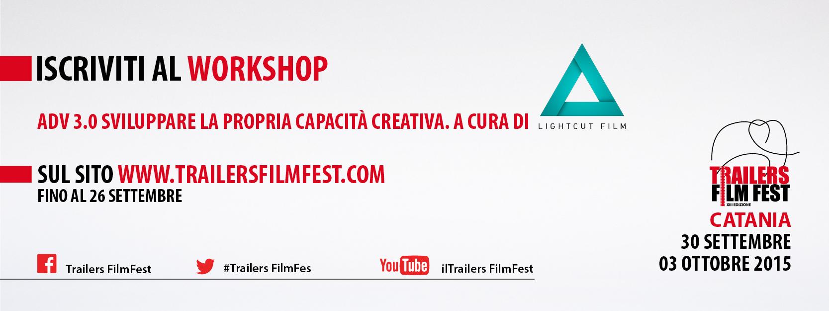 Banner Workshop Trailers FilmFest 2015