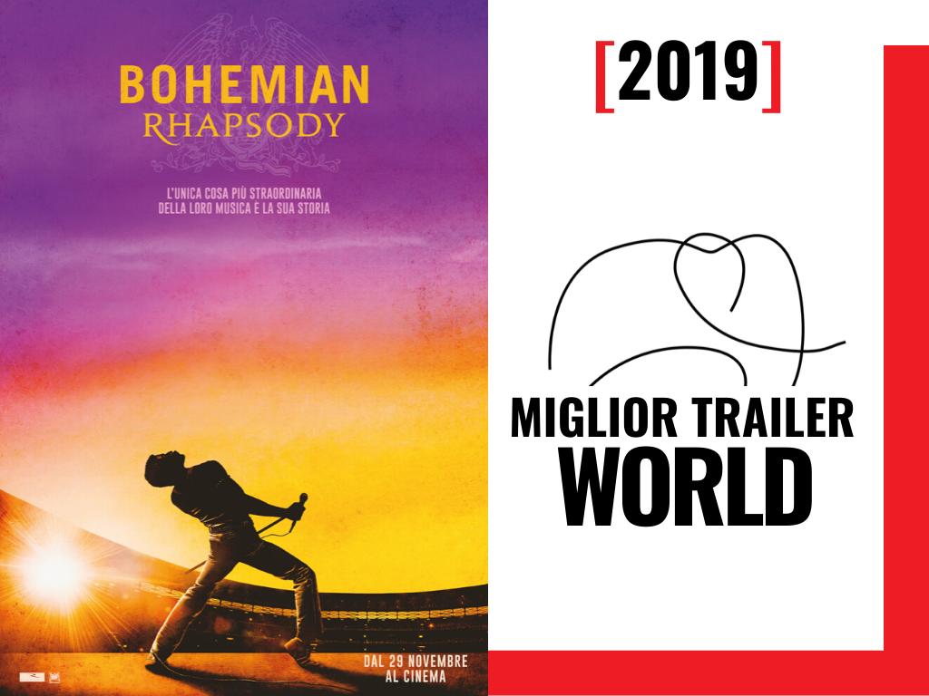 premio MIGLIOR TRAILER WORLD 2019